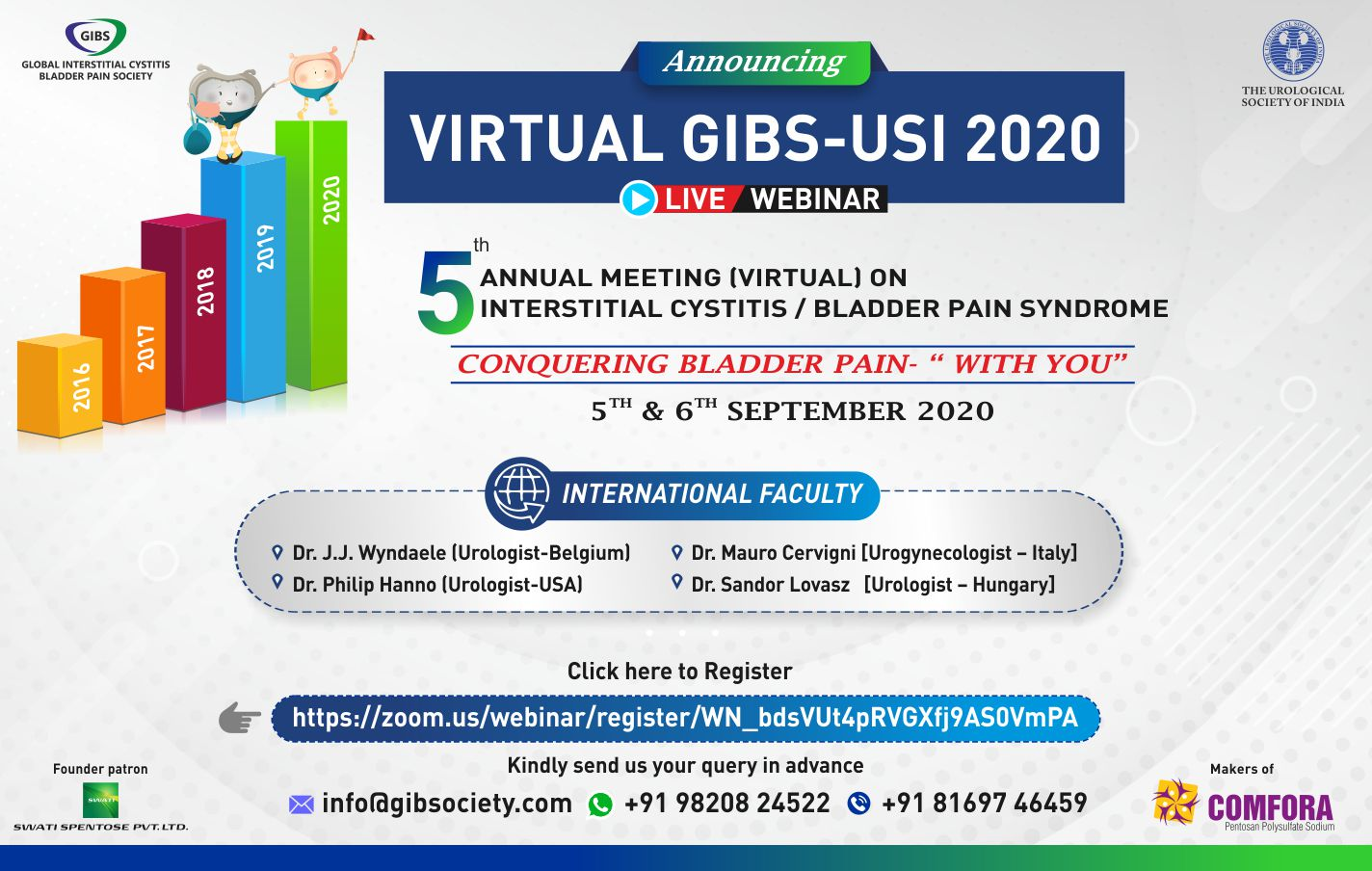 VIRTUAL GIBS - USI 2020 Annual Meeting on IC/BPS